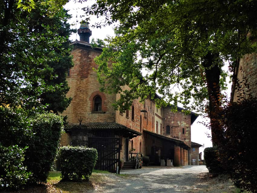 Strada bianca a Castello di Gabbiano