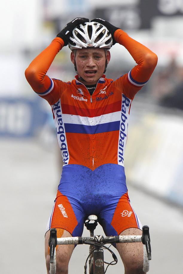 Ciclismo, alla Freccia del Brabante vittoria di Van der Poel