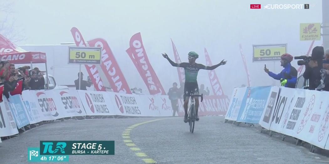 Giro di Turchia, Grosschartner vince la tappa regina