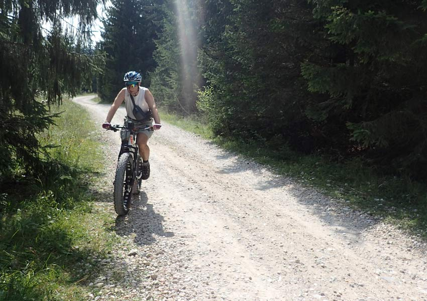 Strade bianche in e-bike