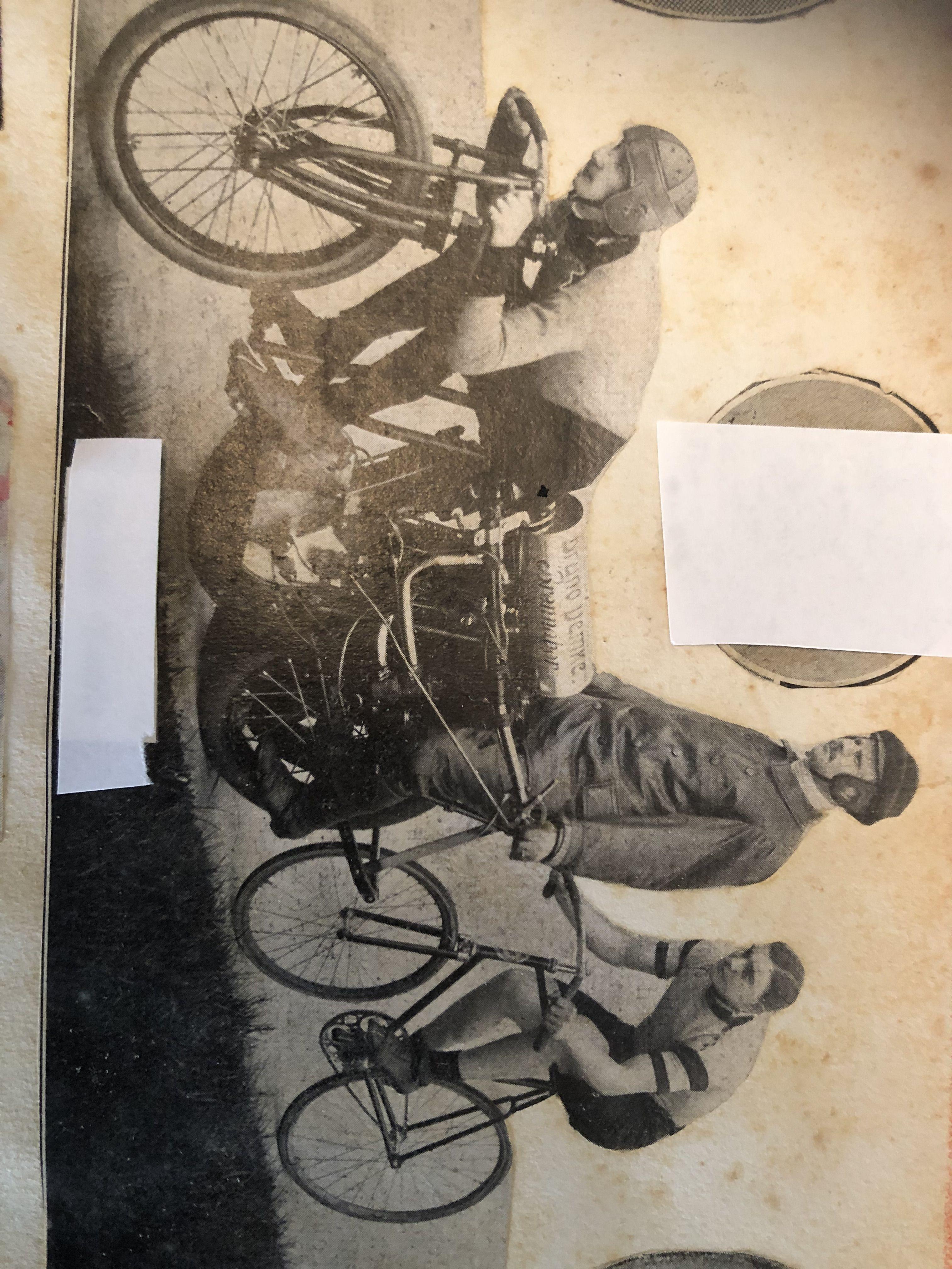 Chi è il ciclista nella foto? Un pettorale della Monsterrato per il primo che lo scopre