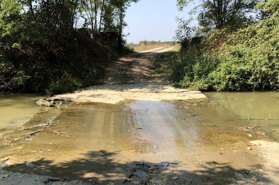 La Monsterrato e il guado del quieto, tremendo Rio Gaminella